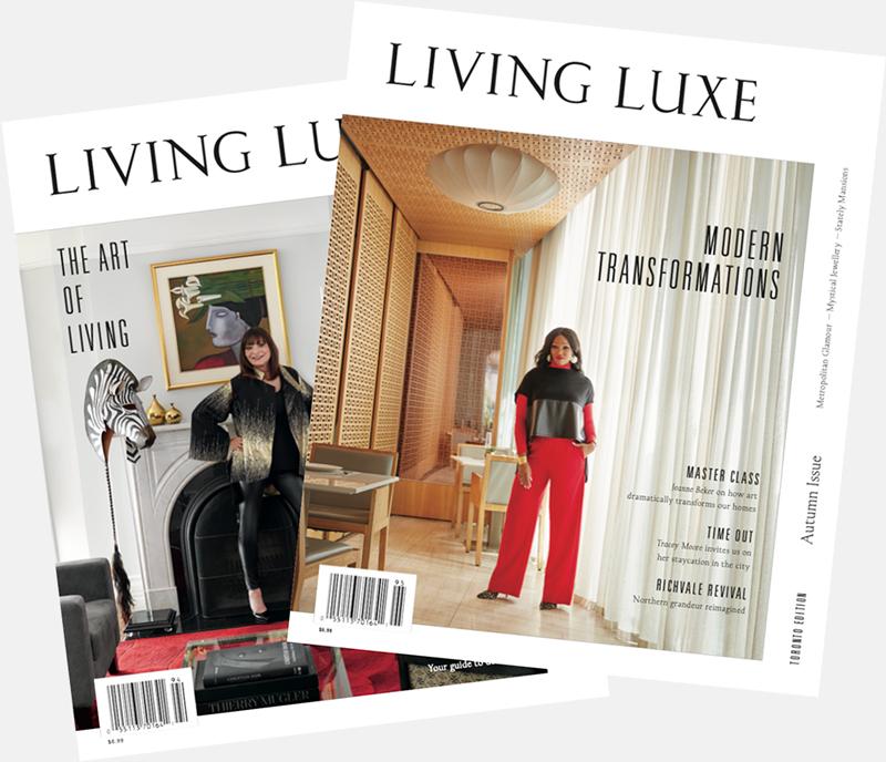 luxury magazine