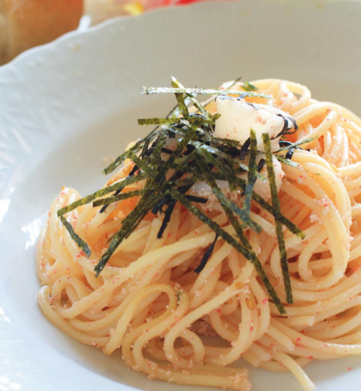 Recipe Seaweed Pasta Living Luxe Magazine
