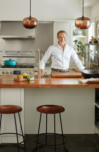 Mark McEwan in his kitchen