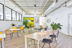 luxury open space offices